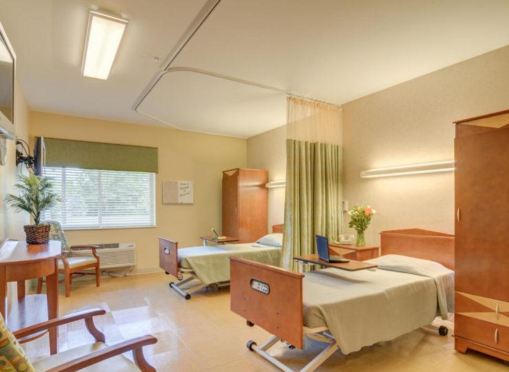 semi private patient room