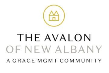 The Avalon of New Albany logo