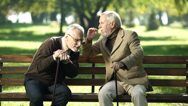 Hearing Loss can cause social isolation but can also affect your brain and cause dementia
