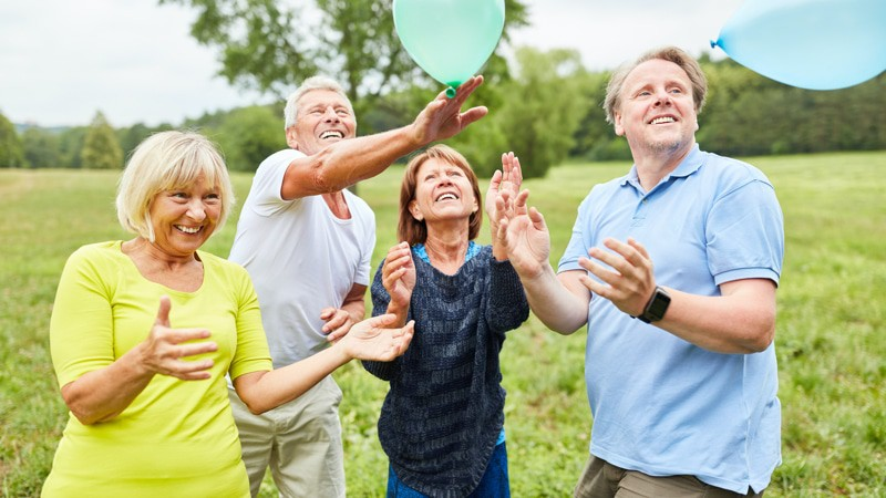 Seniors Laughter Yoga
