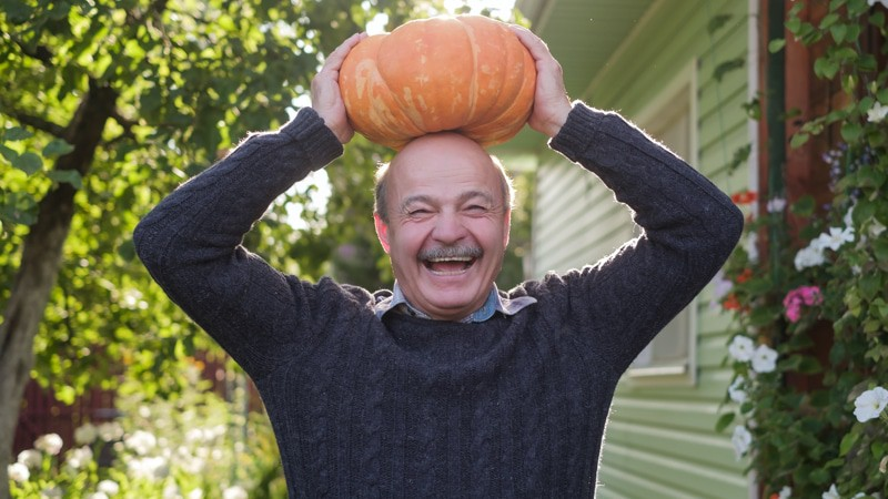 Be safe on Halloween and silly like this man!