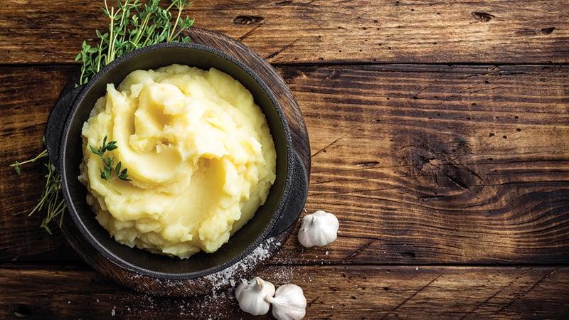 Pesto mashed potatoes recipe