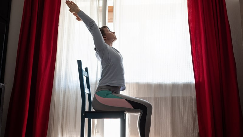 Chair exercise for seniors