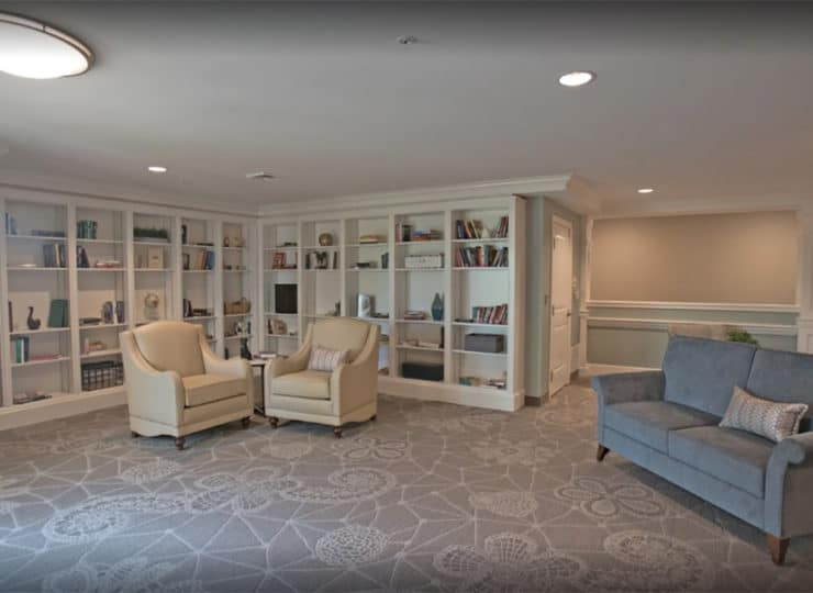 Hellenic Senior Living Lobby Area