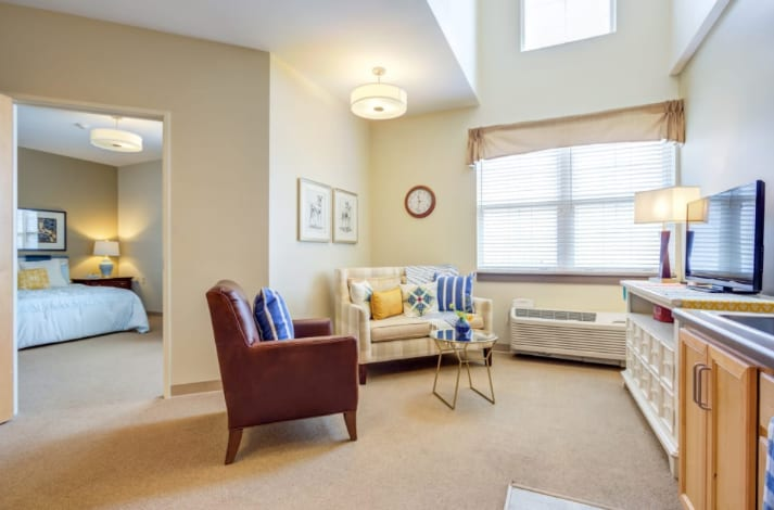 Clearvista Lakes Health Living Room