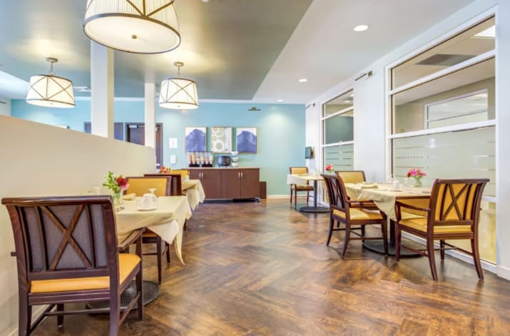 Clearvista Lakes Health Campus Dining Room
