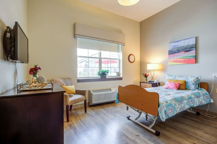 Clearvista Lakes Health Campus Bedroom