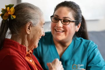 Right At Home Indianapolis Caregiver