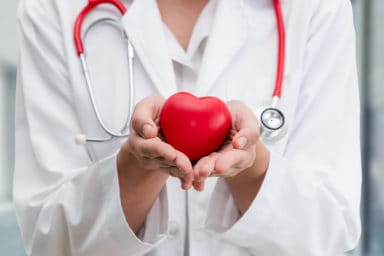 My Healthcare Nurse Holding Toy Heart