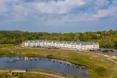 Eden Park Apartments Aerial View