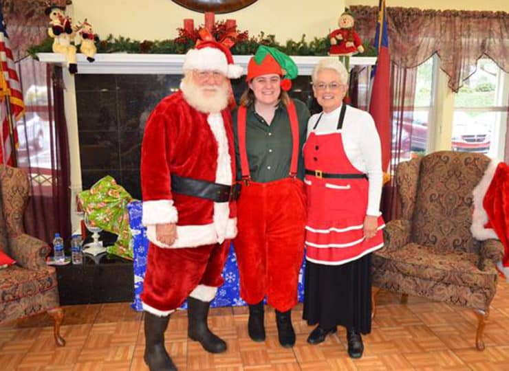 Always Best Care North Wake And Franklin County Santa and Ms Claus