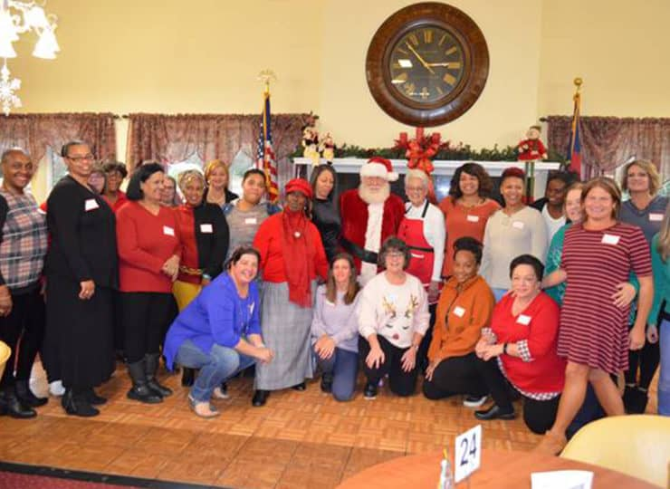 Always Best Care North Wake And Franklin County Staff Christmas