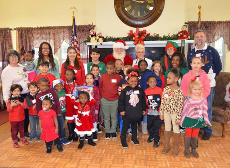 Always Best Care North Wake And Franklin County Christmas Kids with Santa