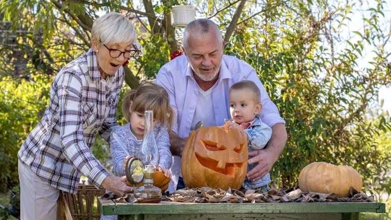 Some fun Halloween activities with grandkids