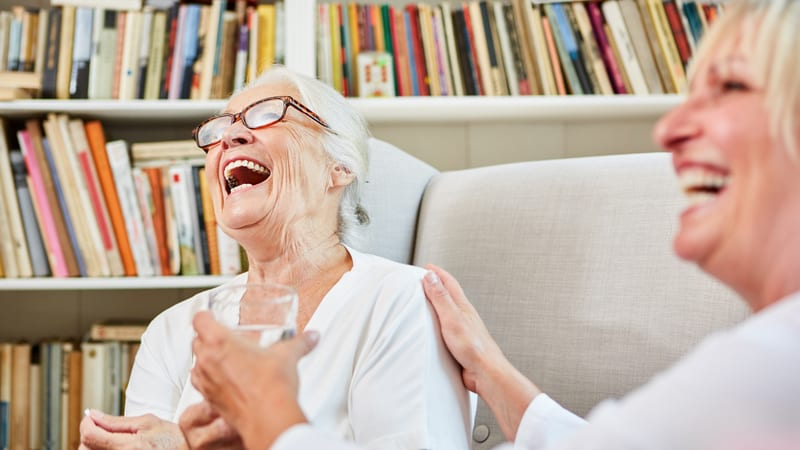 Senior living community has the best staff