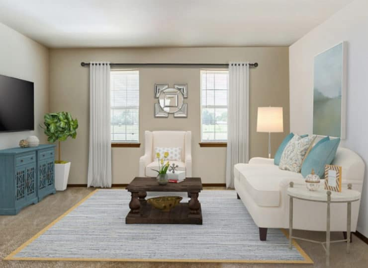Parkview Senior Apartments Living room