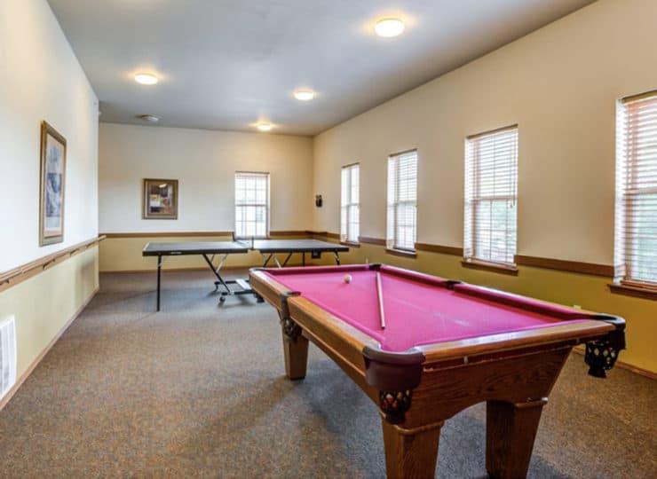 Parkview Senior Apartments Game Room