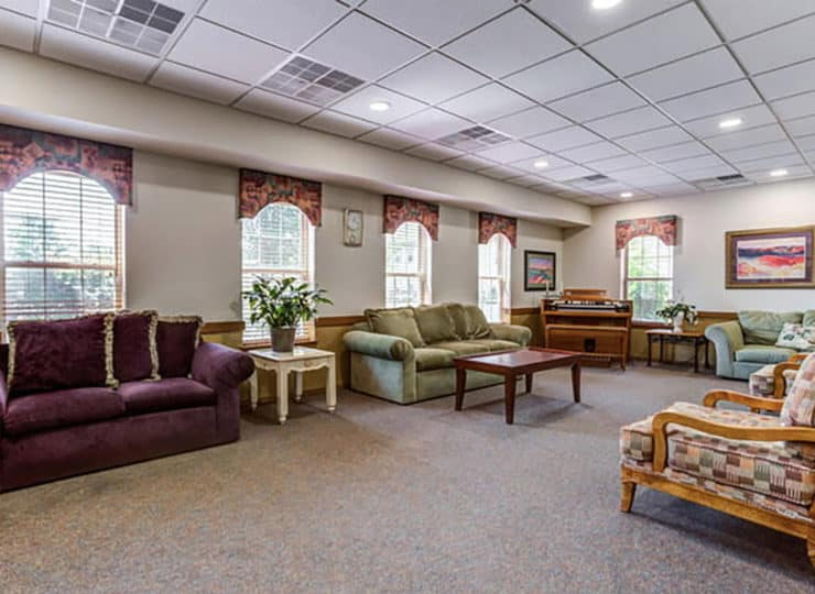 Parkview Senior Apartments Community Lounge