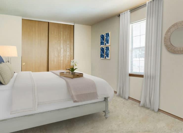 Parkview Senior Apartments Bedroom