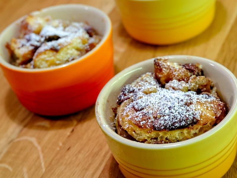 A Thanksgiving dish that's pumpkin bread pudding