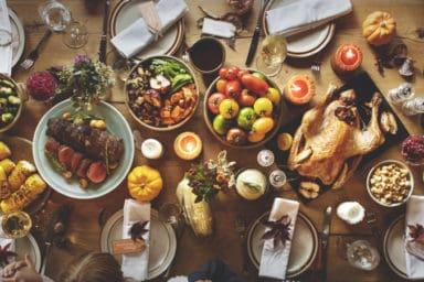 Thanksgiving dish dinner
