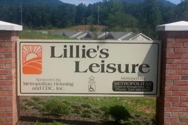 Lillie's Leisure Sign