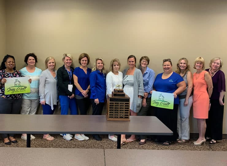 Stay Well Home Health Employee Group Photo
