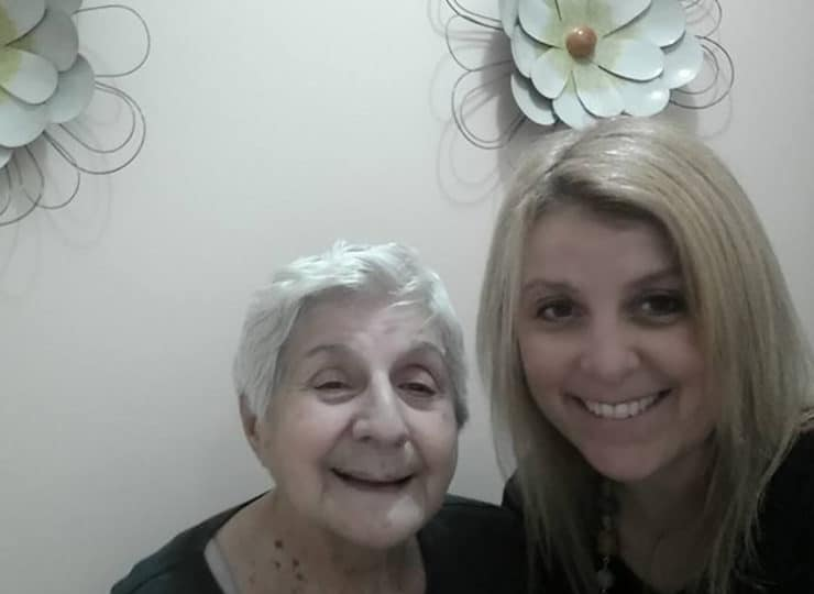 Lynns Care Homes Caregiver With Elderly Lady