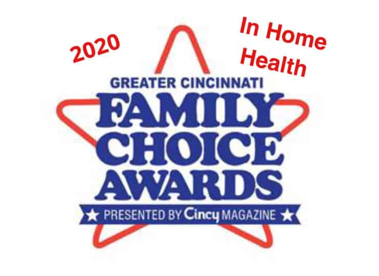 Visiting Angels West Cincinnati Family Choice Award