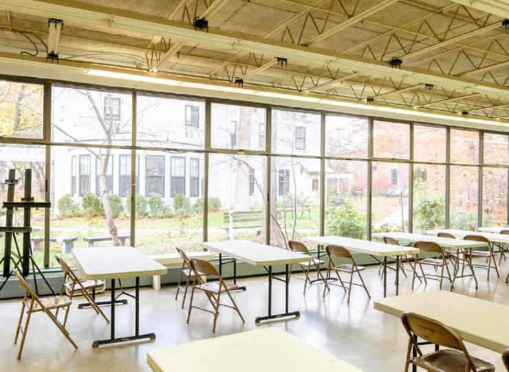 Baker Hunt Art and Cultural Center Classroom
