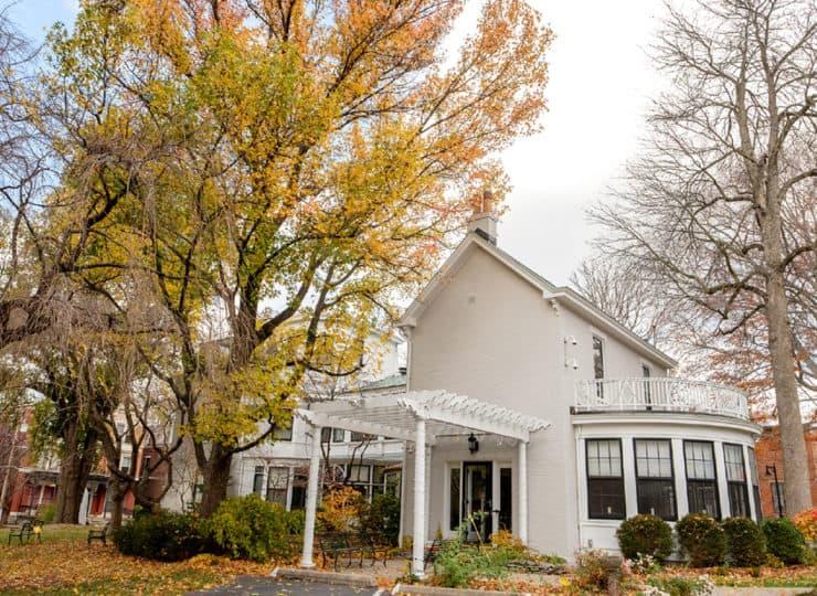 Baker Hunt Art and Cultural Center Exterior During Autumn