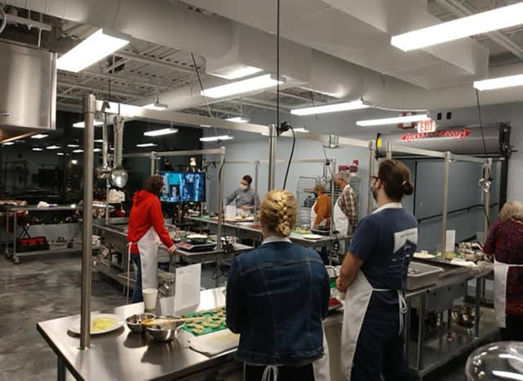 Baker Hunt Art and Cultural Center Cooking Class