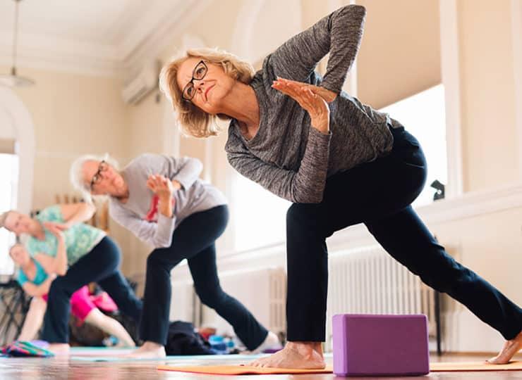 Baker Hunt Art and Cultural Center Senior Ladies Yoga