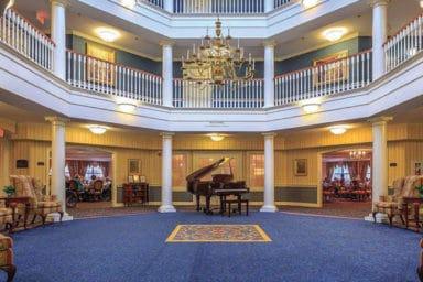 Bentley Commons at Lynchburg Lobby