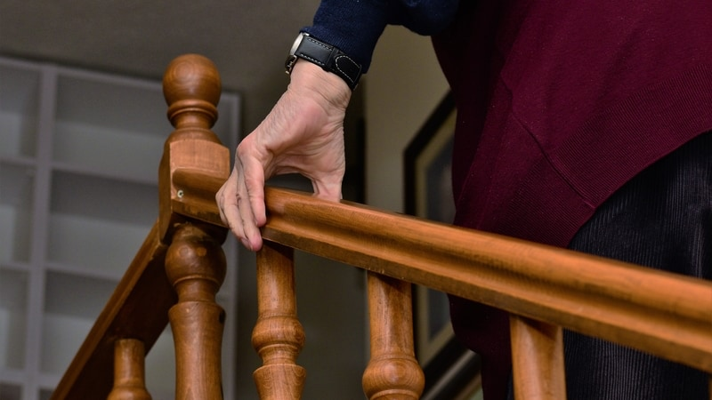 Holding onto a handrail is one of the best ways to prevent hip fractures