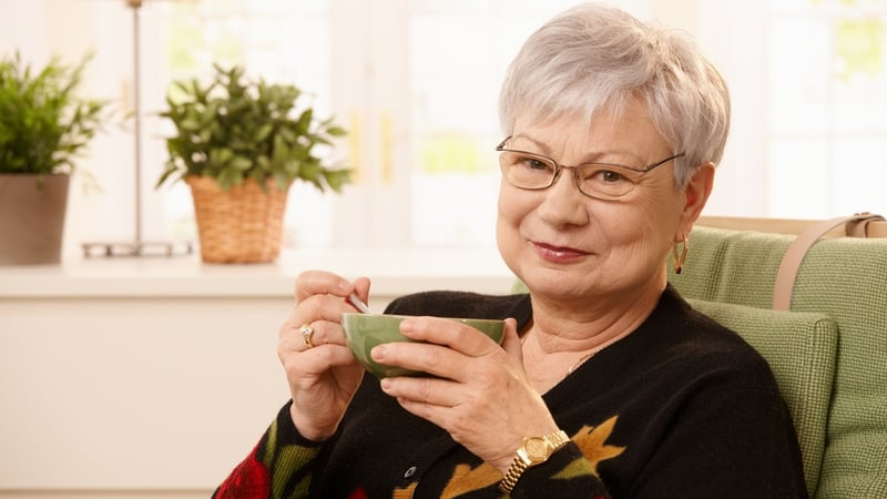Woman reaping the benefits of CBD for seniors