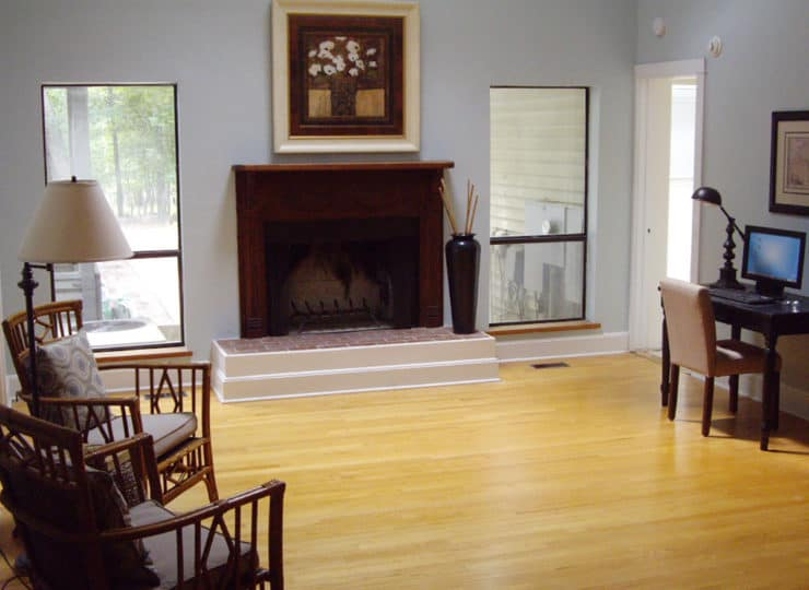 Live Well Activity Area with Fireplace
