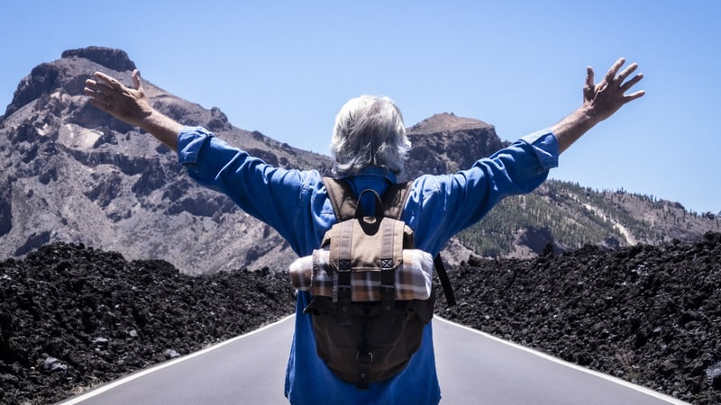Senior man is in one of the best places to retire abroad