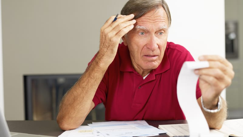 Senior man knows it's okay to start taking financial help from your kids