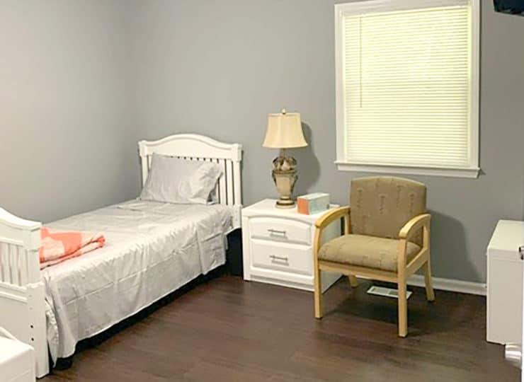Springdaile Assisted Living Bedroom