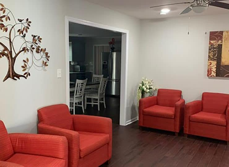 Springdaile Assisted Living Living Room