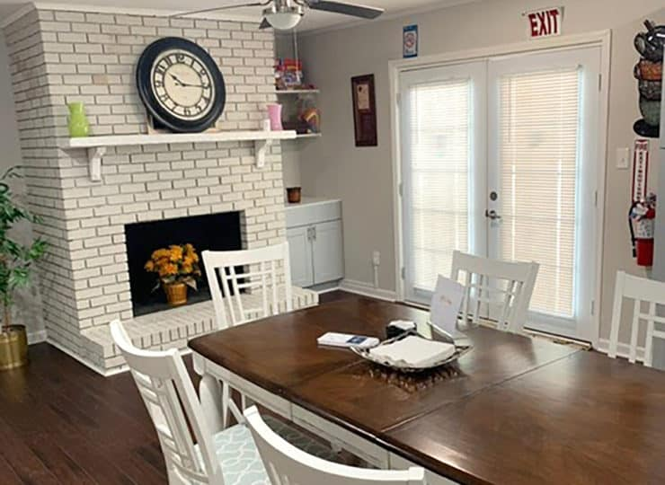 Springdaile Assisted Living Dining Room