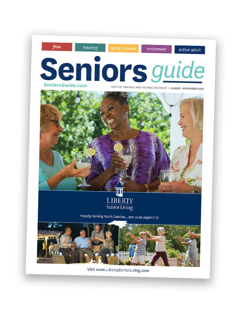 Seniors Guide Triangle and Wilmington Cover