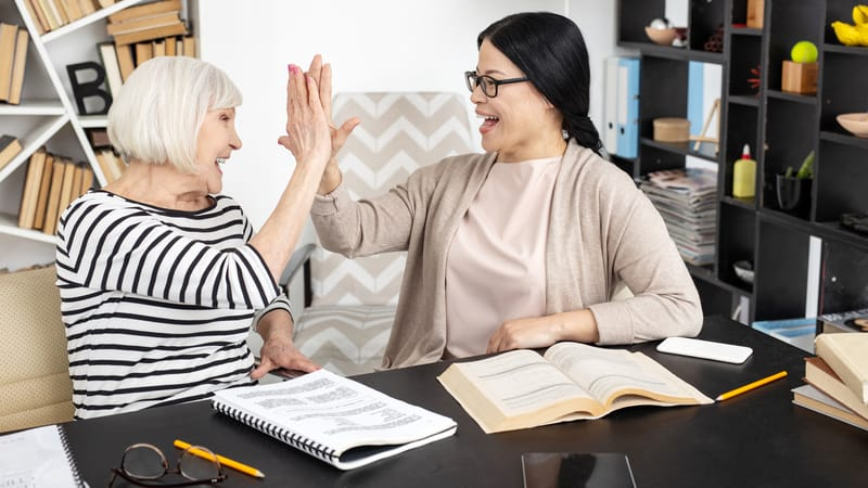A tutor is one of the best post-retirement jobs