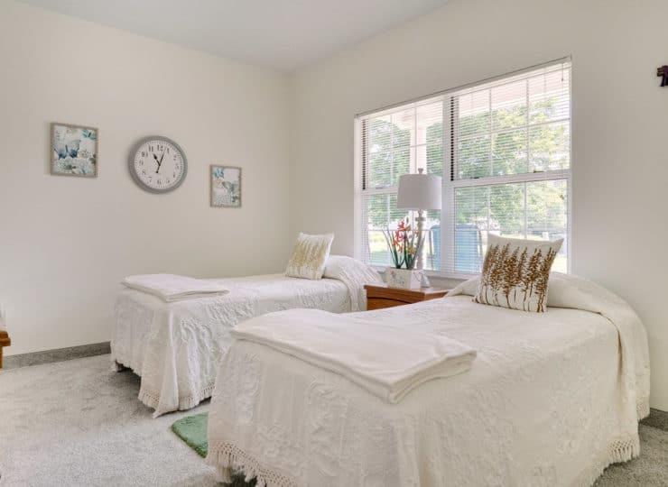 Rittenhouse Village at Michigan City bedroom
