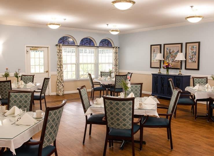 Commonwealth Senior Living Hampton Dining Room