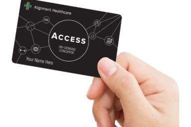 Alignment Healthcare Black Card