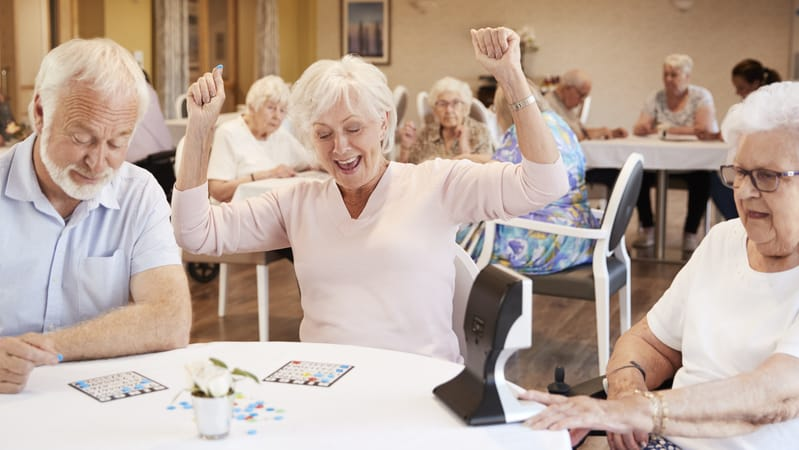 Retirement costs in Tidewater are affordable enough to play bingo