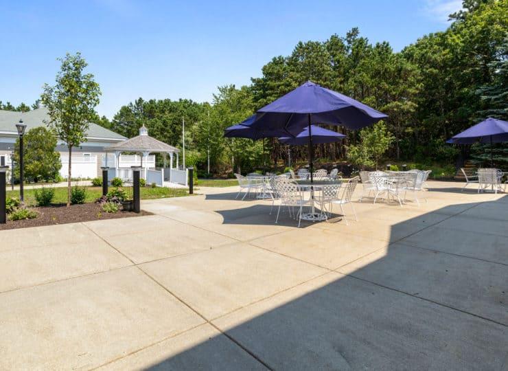 Serenity at Brewster patio