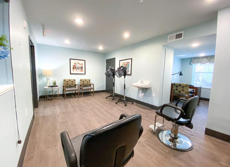 Homestead Village Beavercreek Inside Salon